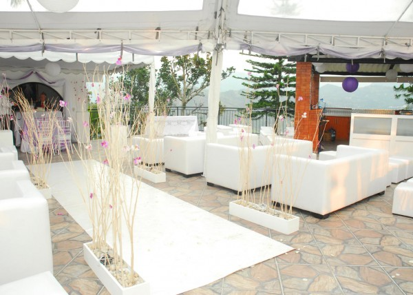 Decoracion Ceremonia con Salas Lounge